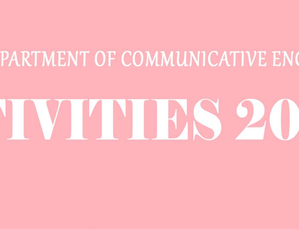 Activities 2017-18