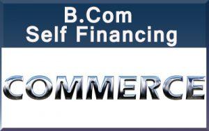 B.Com Self Financing