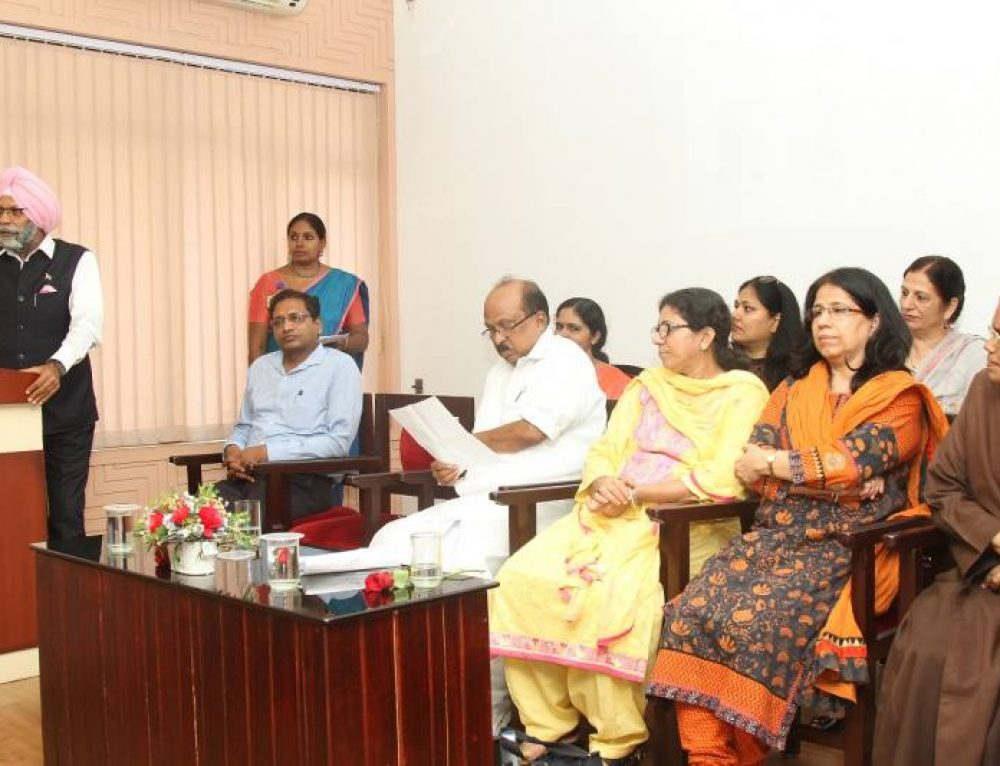 National Commission for Minority Educational Institutions (NCMEI) visits College