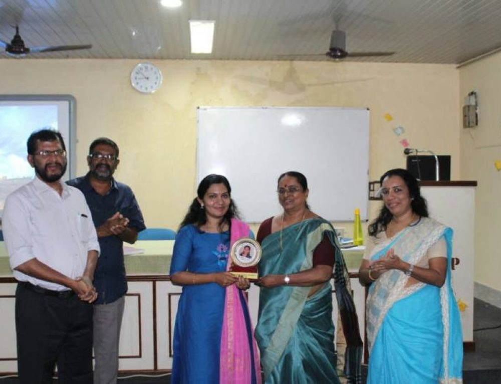Congratulations Dr. Anju and her research guide Dr. Kala M S
