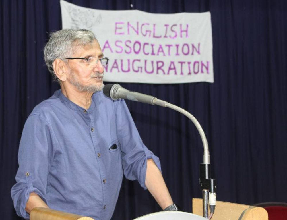 Inauguration of English Association