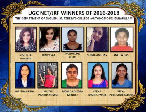 Department of English, UGC NET/JRF Winners June 2018