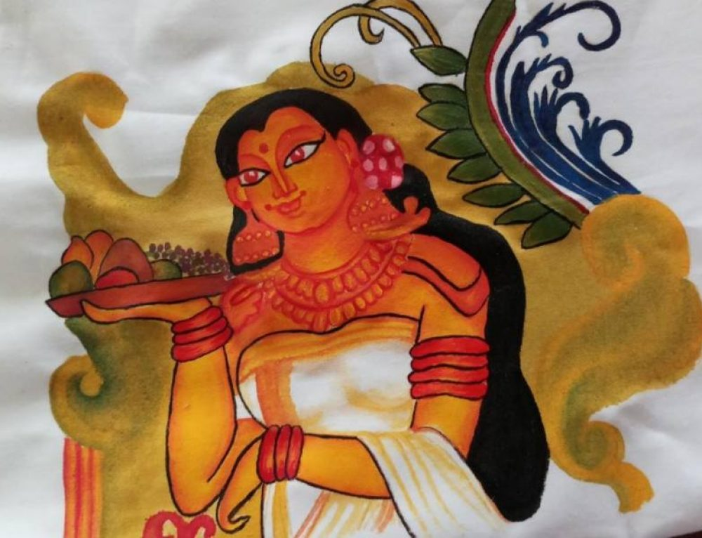 """A Travel through Indian painting- Mural Art"""
