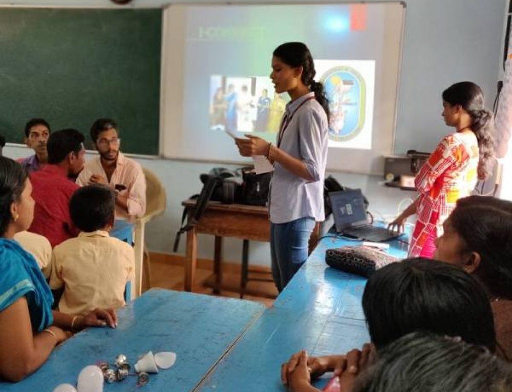 Workshop on LED bulb Assembling and Energy Conservation