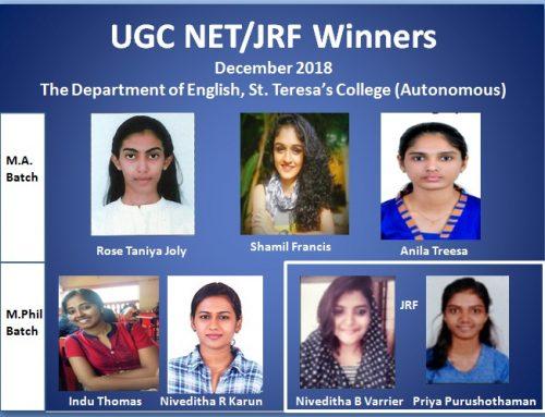 UGC NET/JRF Winners