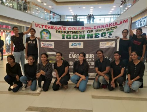 I CONNECT observed EARTH HOUR on 30th March 2019