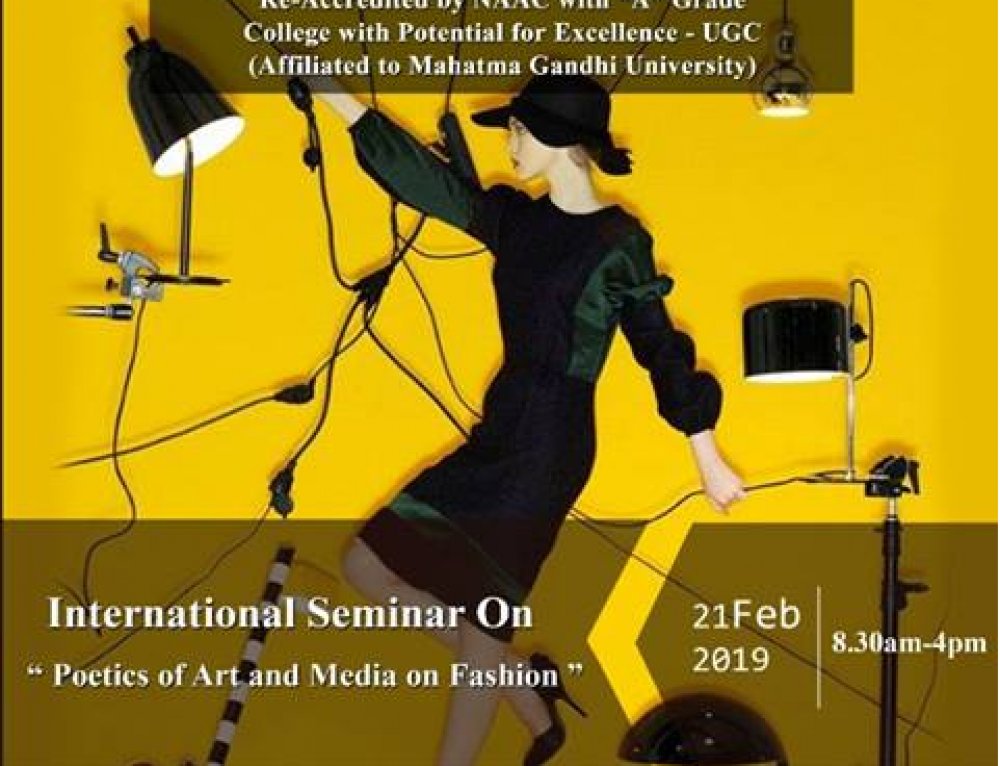 """Poetics of Art and Media on Fashion"" – International Seminar"