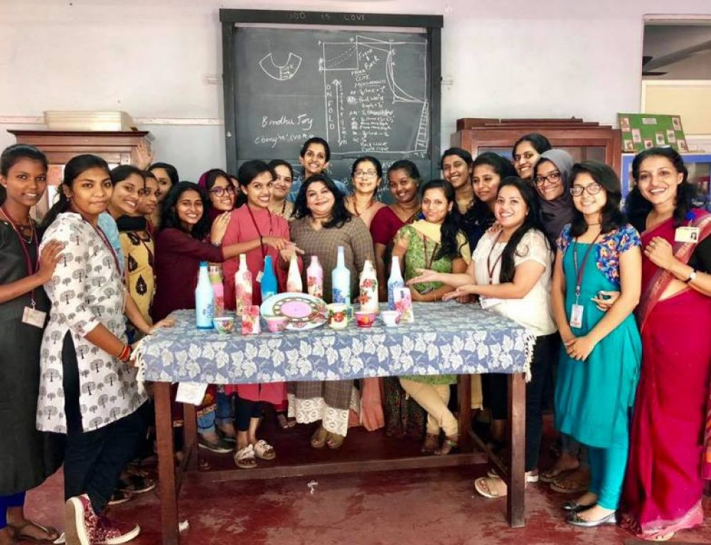 Workshop  On 'Decoupage – A Creative Art'
