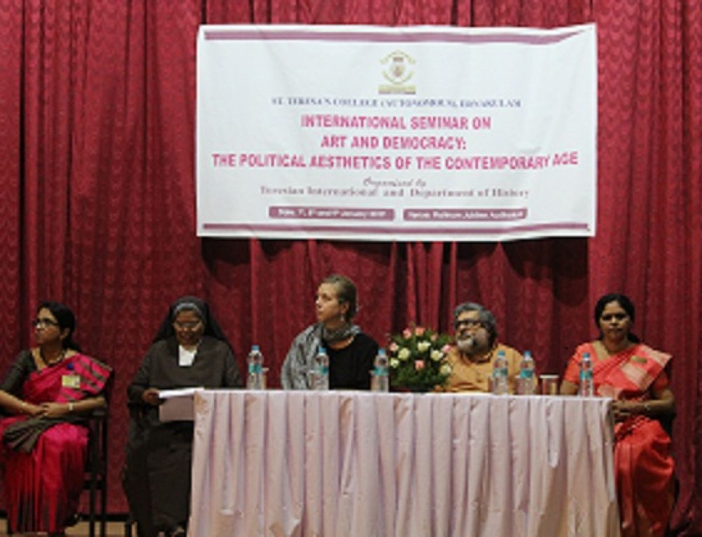 International seminar on Art and Democracy-the Political Aesthetics of the Contemporary Age