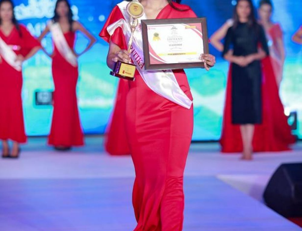 Congrats to Ms. Ritika Raghav- Crowned Miss Queen of North India
