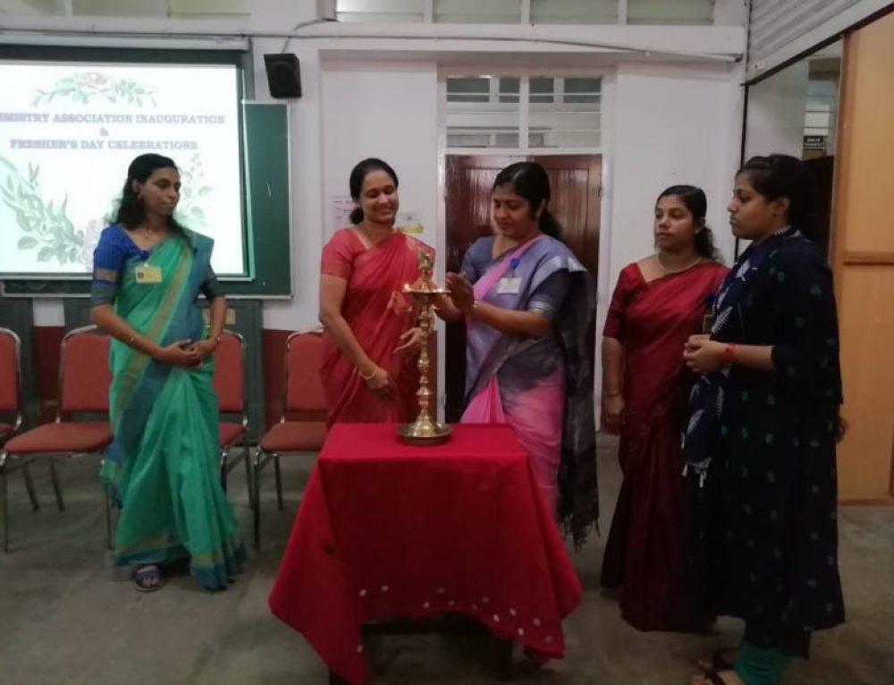 Inauguration of Chemistry Association and Student Enrichment Program