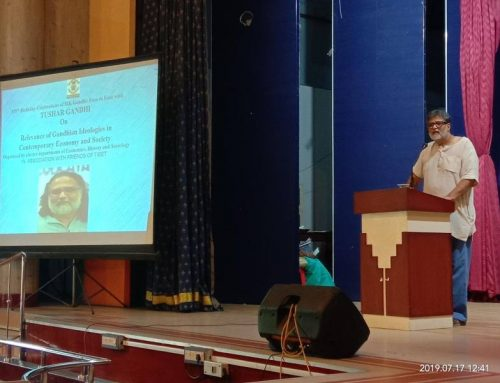 150th Birthday Celebrations of M.K Gandhi:Face to Face with Tushar Gandhi