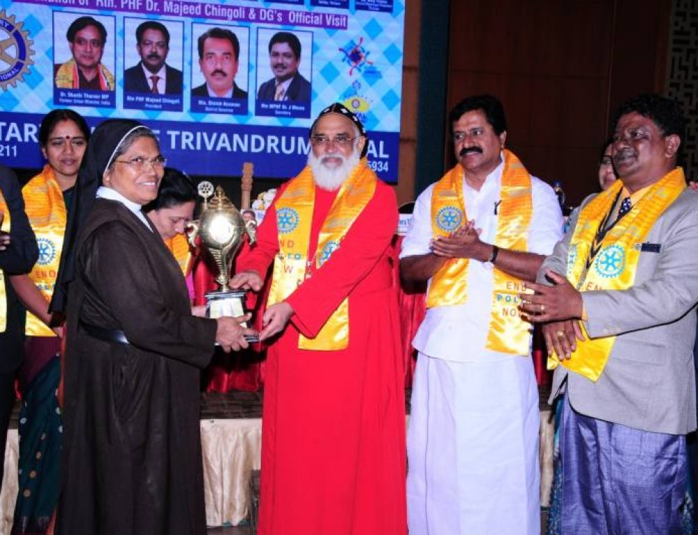Congratulations to Rev. Dr. Sr. Vinitha CSST