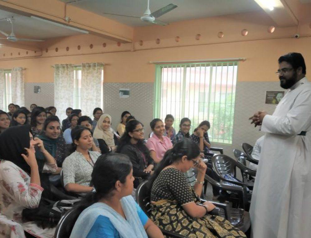 Field Visit To Santhula Trust Hospital, Koothattukulam