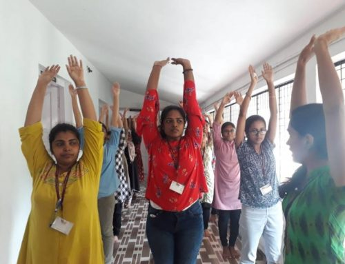 International Yoga Day Celebration: English Department