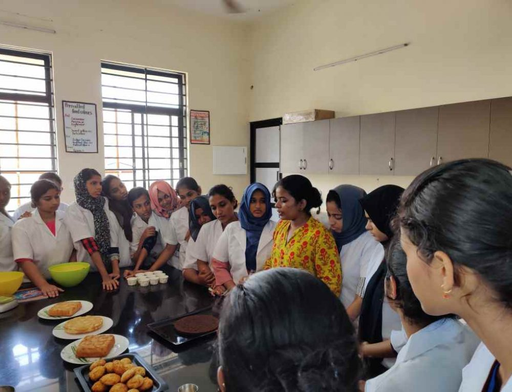 Two day training program on bakery and confectionery products