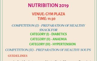 Nutribition - Nutrition Awareness Exhibition