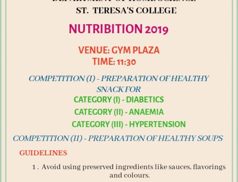 Nutribition – Nutrition Awareness Exhibition Program