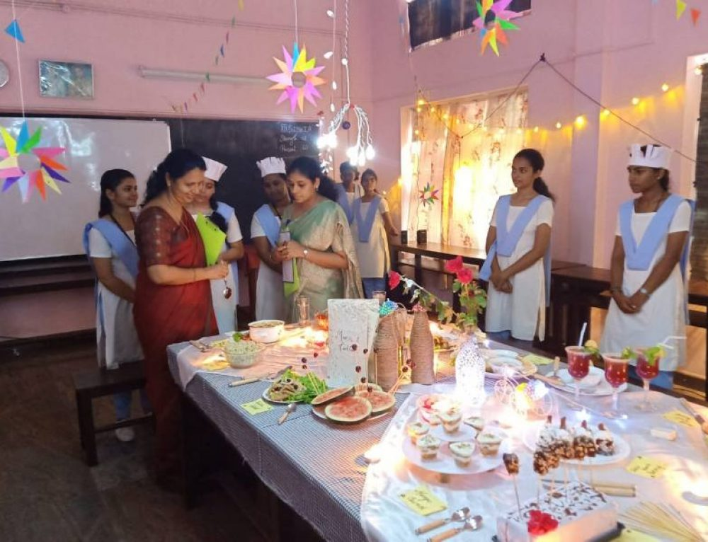 Judge for Cookery competition on 03/10/2019