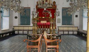 historical visit to chendamangalam synagogue