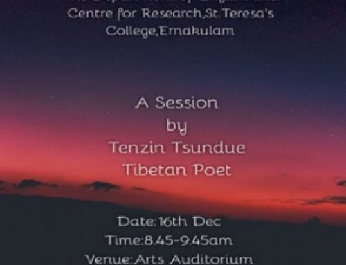 CREATIVE WRITING SESSION BY TENZIN TSUNDUE