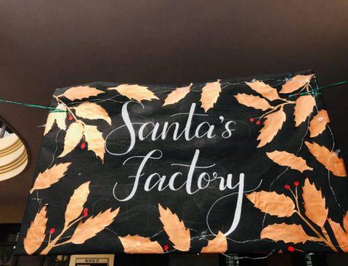 Santa's Factory- Christmas sale