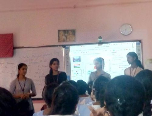 """I- WAY …"" Career Orientation Classes for Higher Secondary Students Conducted by BSc.Computer Applications(Triple Main) and B.Voc Software Development Students"
