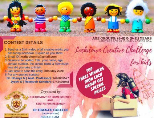 Lockdown Creative Challenge Contest for Kids