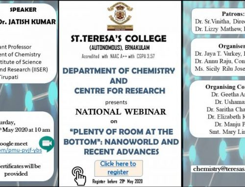 "WEbinar on ""Plenty of Room at the Bottom: Nanoworld and Recent Advances"