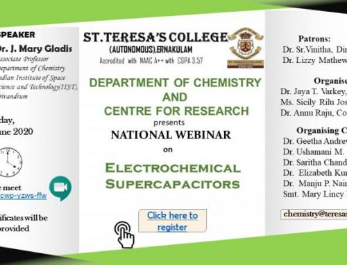 Webinar on Electrochemical Supercapacitors