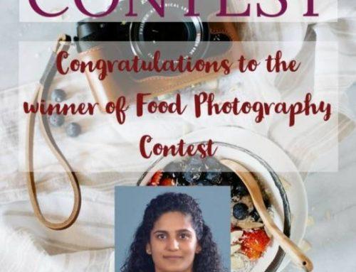 INTERCOLLEGIATE FOOD PHOTOGRAPHY CONTEST