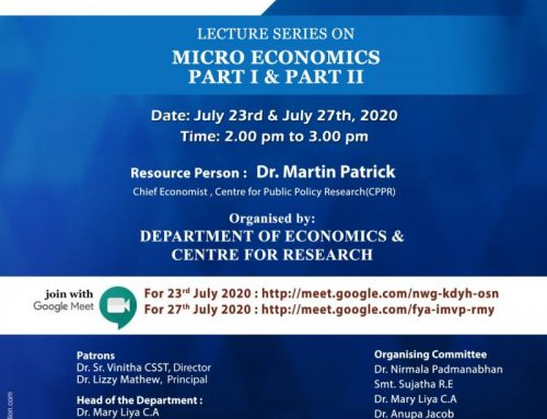 Lecture Series on Micro Economics- Part II