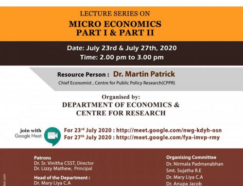 Lecture Series on  Micro Economics-Part I & Part II