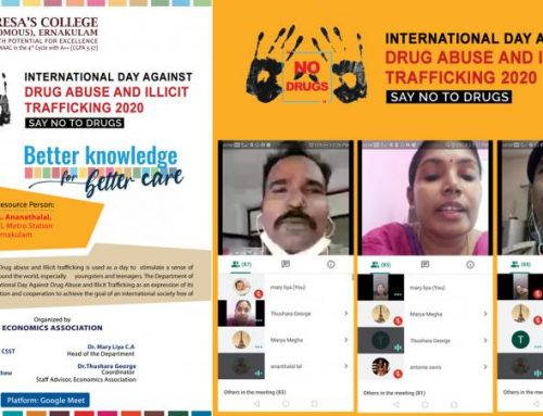INTERNATIONAL DAY AGAINST DRUG ABUSE -26th June 2020