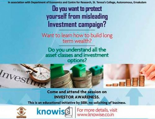 Investor Awareness Programme ,Educational initiative by SEBI & Dept.of Economics