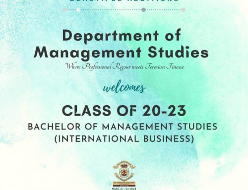 Induction Program : Class of 20-23
