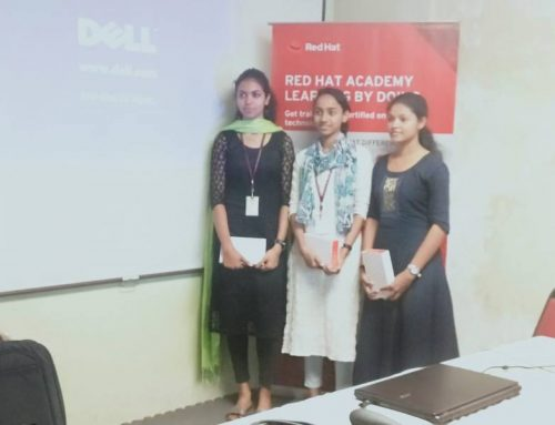 RedHat Quiz Competition Winners