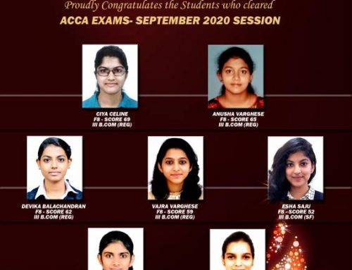 Congratulations to students who cleared ACCA Exam(Sept Session)