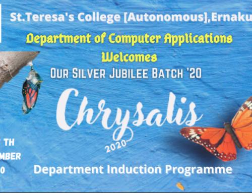 Chrysalis – Induction Program BSc.Computer Applications (Triple Main) , BVoc Software Development