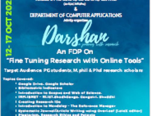 Darshan – Fine Tuning Research with online Research Tools