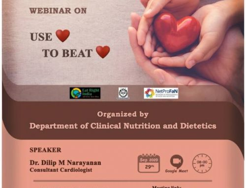 WEBINAR ON – USE HEART TO BEAT BROKEN