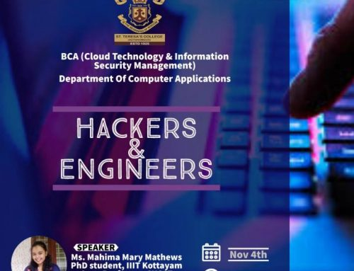 "Webinar on ""Hackers & Engineers"" by BCA (CT & ISM)"