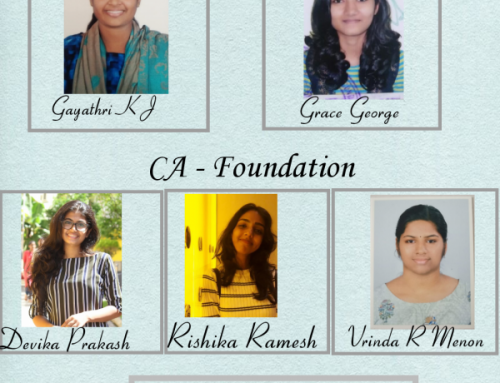 Congratulations to students who cleared CA and CMA Exam