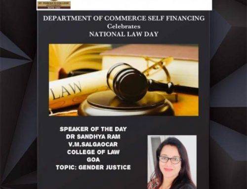 NATIONAL LAW DAY – WEBINAR ON GENDER JUSTICE