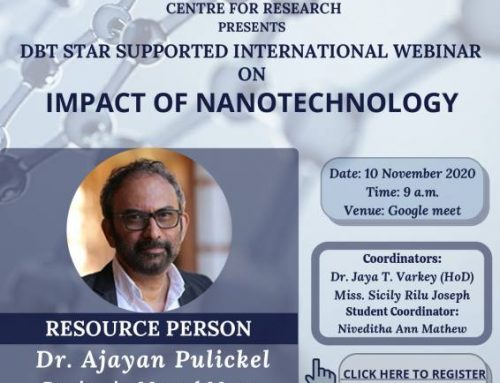 International Webinar- Impact of Nanotechnology