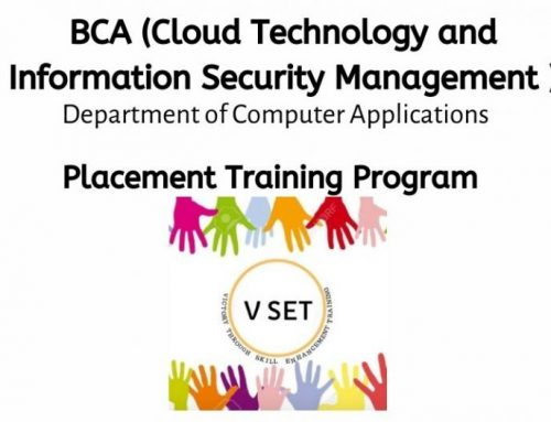 VSET-Placement Training Program by BCA (CT & ISM)