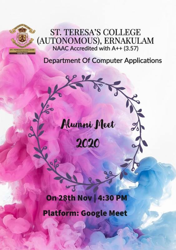 Brochure of Alumni meet 2020