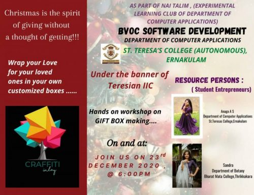 Gift Box Making Hands on Workshop – BVoc Software Development