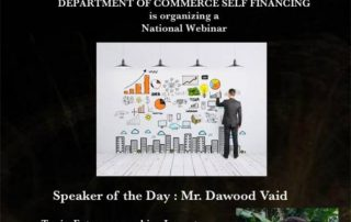 Webinar on Entrepreneurship