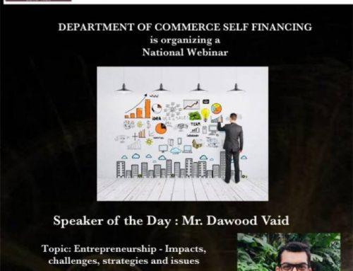 National Webinar on Entrepreneurship